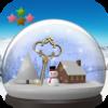 新作アプリ「スノードームと雪景色」を再公開しました